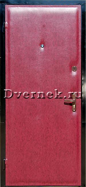 металлические входные двери недорого снаружи металл внутри дермантин