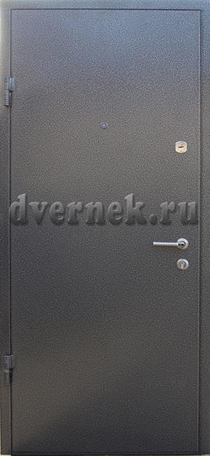 металлическая дверь белый ламинат порошковое покрытие